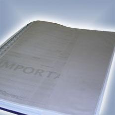 Bolsa Plástica Para Cadernos