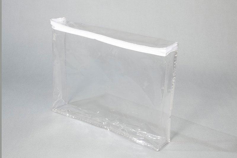 Embalagem plástica com zíper para edredom