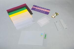 Bolsa plástica para caderno