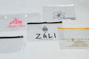 Envelope pvc cristal zip zap
